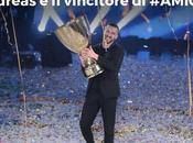 #AMICI16: VINCE PROGRAMMA ANDREAS! RICCARDO MARCUZZO CATEGORIA CANTANTI Ascolti