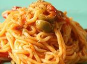 Spaghetti alla Chitarra alle Olive Origano