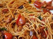 Spaghetti Pomodorini Arrostiti Melanzane