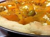 Focaccia peperone, philadelphia olive
