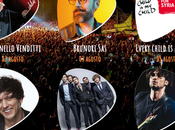 #VulciMusicFest 2017: cartellone Venditti, Brunori Sas, Ermal Meta Fabrizio Moro