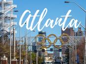 Atlanta giorno: città vibrante parchi, grattacieli Coca Cola