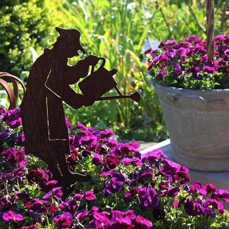 My undergardener is always busy watering the pansies Mijn medewerker met zijn gieter en viooltjes in de tuinMein kleiner Gärtner mit seiner Gießkanne landelijketuin #landelijkesfeer #landliebe #landelijkestijl #tuin #landliebe #landliv #hornveilchen #sweetviolet #mycountrycottage #countrycottage #frühlingsgefühle #instaflowers #instagarden #bauerngarten #mycottageinstincts  #vintagegarden  #spring #lovemygarden  #landliebe #cottagegarden #inmygarden #inmijntuin #pansies #pansiesflowers #gartendeko  #gartenliebe