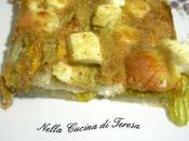 Tortino patate fiori zucca