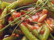 Fagiolini pomodoro erba cipollina