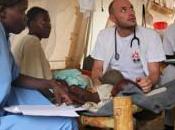 Libia Lettere terreno. omaggio agli eroi Medici senza frontiere