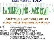 "Ritorna NUMERO DARK ROAD"", targata G.S.Solbiatese"