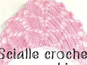 lilla's tutorials: scialle crochet rombi, schema video