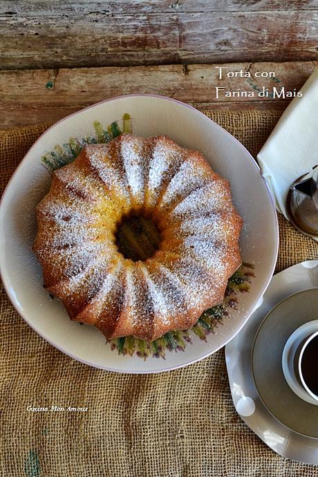 Torta Brasiliana con Farina di Mais – Torta di Fubà