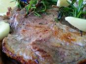Bistecche collo maiale marinate