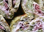 Rotolo Frittata Zucchine, Prosciutto Formaggio.