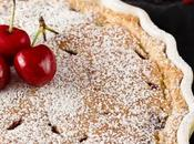 Crostata crema frangipane ciliegie