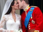 Primo bacio Principe William della Principessa Katherine