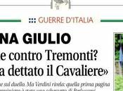 guerra mondi. Libero Giornale: titolo contro Tremonti l'ha dettato Cavaliere