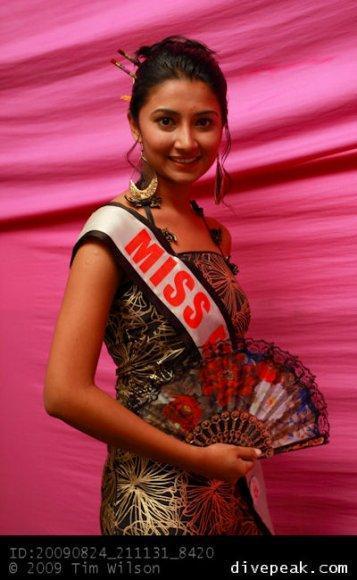 Nafiza Nisha Miss Fiji India 2011