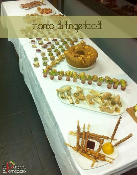 Trionfo di finger food: emozioni sensoriali