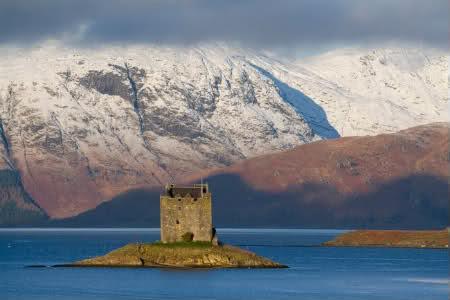 La scozia occidentale isole tidali con castelli for Piani scozzesi della casa del castello dell altopiano
