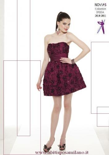 3c2fbe7188cc Sposa 2012 lo stile e le nuove tendenze per le spose di milano NOVIAS