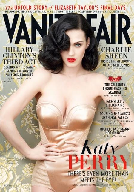 KATY PERRY / BOOBS / VANITY FAIR / JUNE 2011