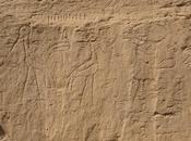 Antiche incisioni deserto egiziano