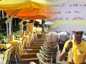 """Chalet Ciro, sedie ombrelloni vietati. protesta: Comune toglie lavoro"""""""