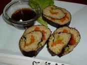 Sushi vegan alghe nori