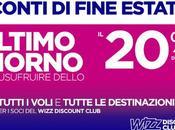 WizzAir: Solo oggi sconto tutti voli tutte destinazioni!
