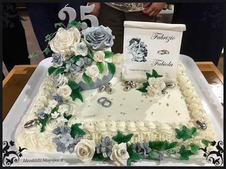 Torta 25 Anni Matrimonio Paperblog