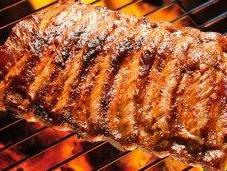 Carne alla griglia piastra. Perché male?