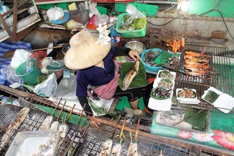 Bangkok e il ristorante galleggiante  Tailing Chan