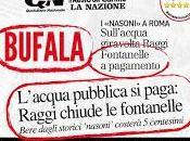 """Basta bufale! """"nasoni"""" Roma sono saranno pagamento!"""