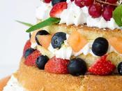 Naked Cake senza glutine alla frutta estiva