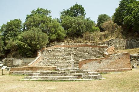Il Parco Archeologico di Apollonia, Albania