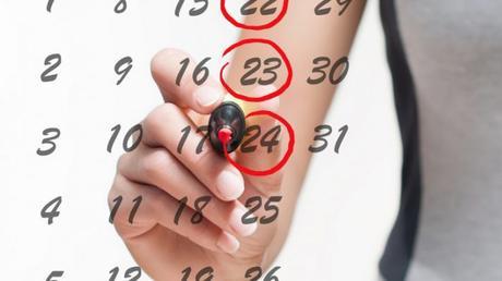 calendario ciclo mestruale mamme a spillo