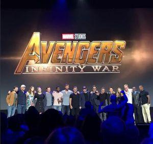 Il Cast Di  AVENGERS: INFINITY WAR alla D23 Expo