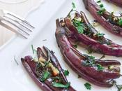 Melanzane perline all'aglio zenzero