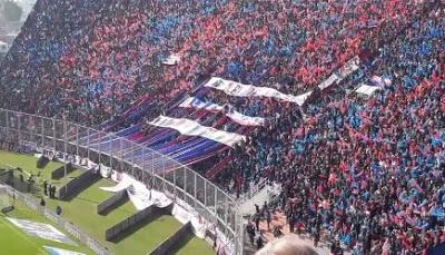 San Lorenzo de Almagro Supporters tifo & passion(Video)