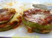 Sandwich zucchine tonde, stile parmigiana