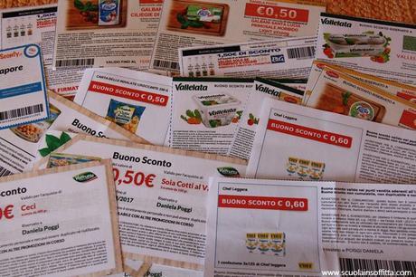 Scuola di risparmio: come fare la spesa con i coupon