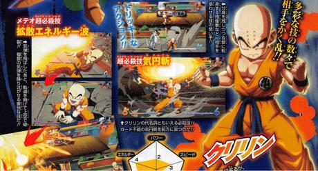 Crilin e Piccolo nel roster di Dragon Ball FighterZ