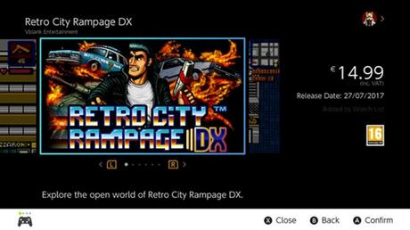 Retro City Rampage: DX su Switch a fine mese