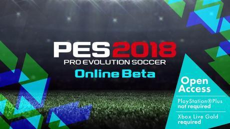 La Beta di PES 2018 è disponibile su console