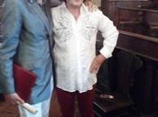 Bernardo Lanzetti incontra Geldof