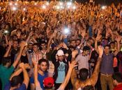Marocco scontri polizia manifestanti Hoceima
