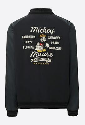 MICKEY STANDS Bomber Jacket _ Uniqlo + Disney