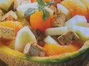 Insalata melone tofu