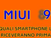 secondo lotto Xiaomi ricevere MIUI sarà composto soli modelli!