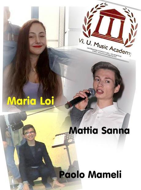 Artisti della Vi.U.Music Academy in concorso ad Uta