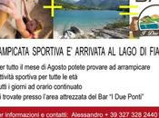 Arrampicata sportiva tutte Lago Fiastra