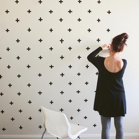 Washi-tape-wall-decor